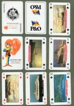 Collectible Advertising Non-standard playing cards  P.& O